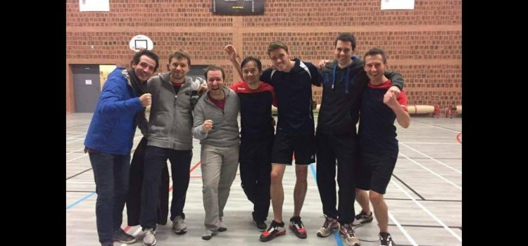Interclubs – L'unique équipe masculine du VBC termine fièrement 3ème de son championnat !
